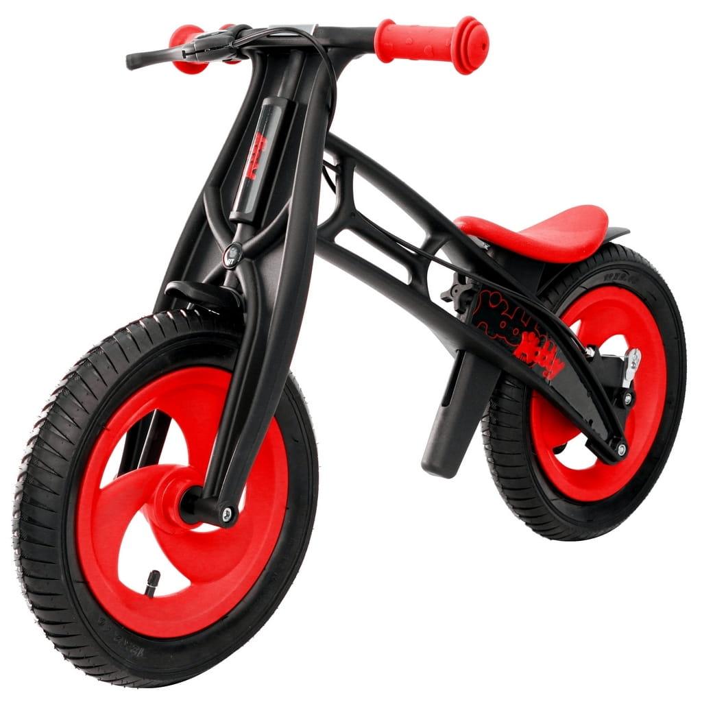 Велобалансир-беговел RT 5361 Hobby bike Fly Черная оса - red-black (шины елочка)
