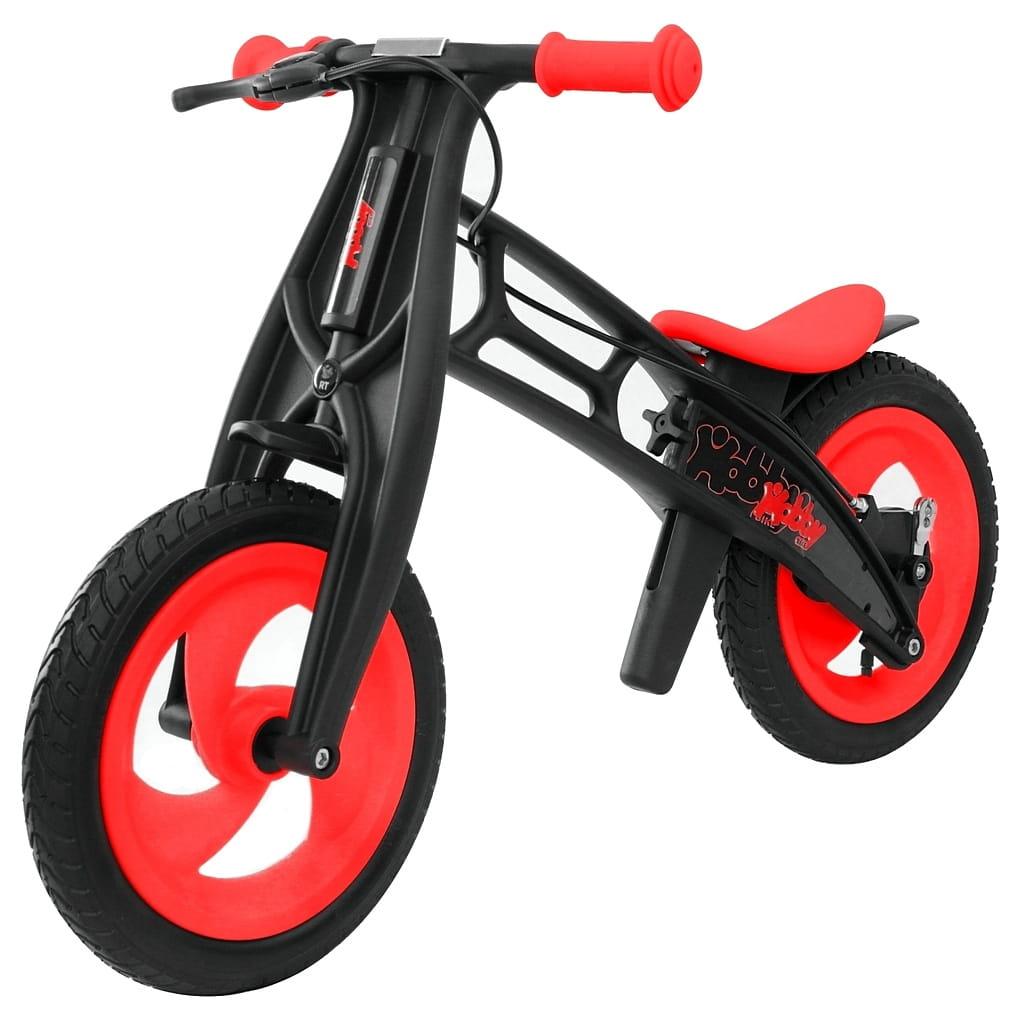 Велобалансир-беговел RT 5364 Hobby bike Fly Черная оса - red-black (шины волна)