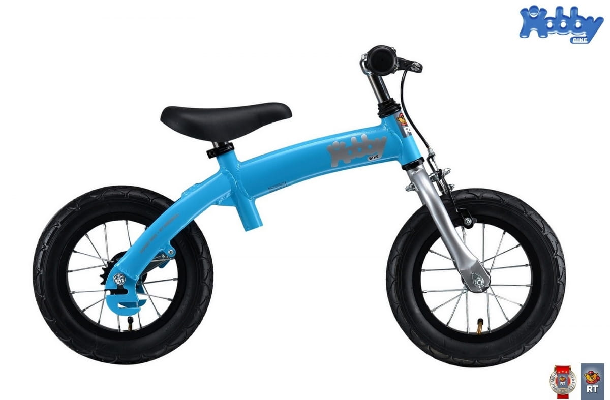Велобалансир-велосипед RT 5240 Hobby bike Alu New 2 в 1 - blue