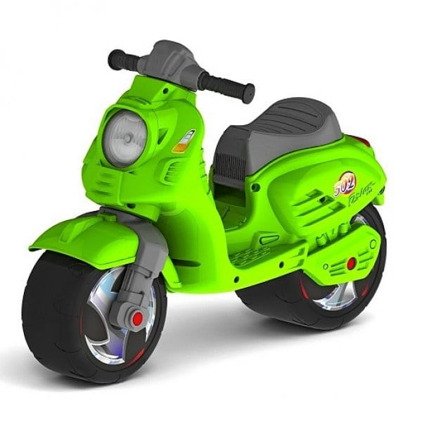 Беговел-каталка RT 6411 Скутер - зеленый