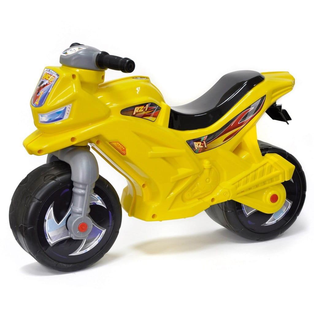 Беговел-каталка RT Racer RZ 1 - желтый