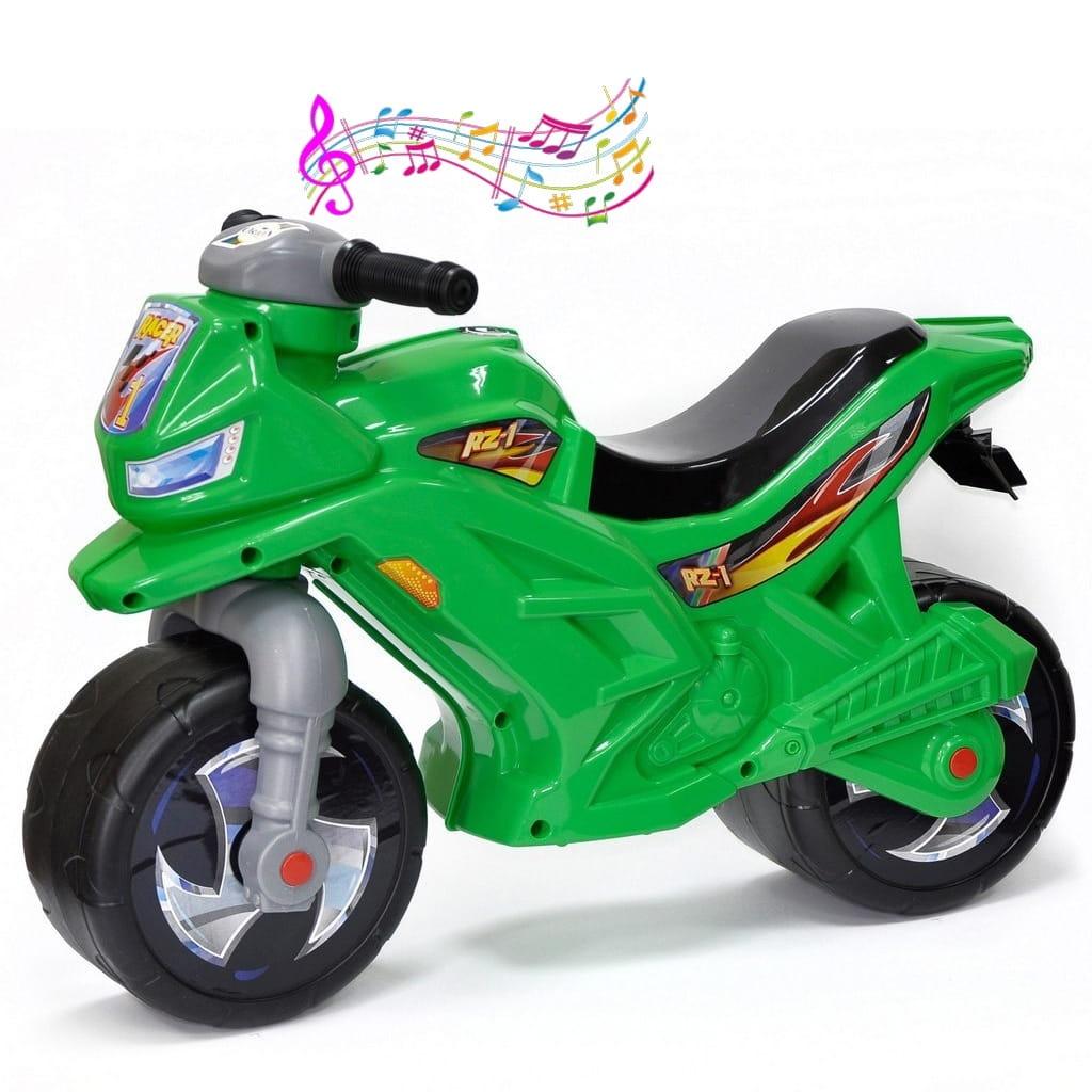 Беговел-каталка RT Racer RZ 1 - зеленый (с музыкой)