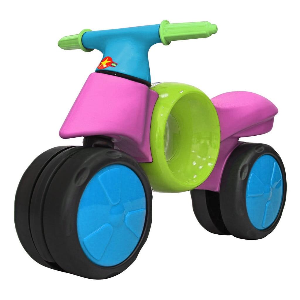 Велобег RT 6538 Kinder way - салатово-розовый