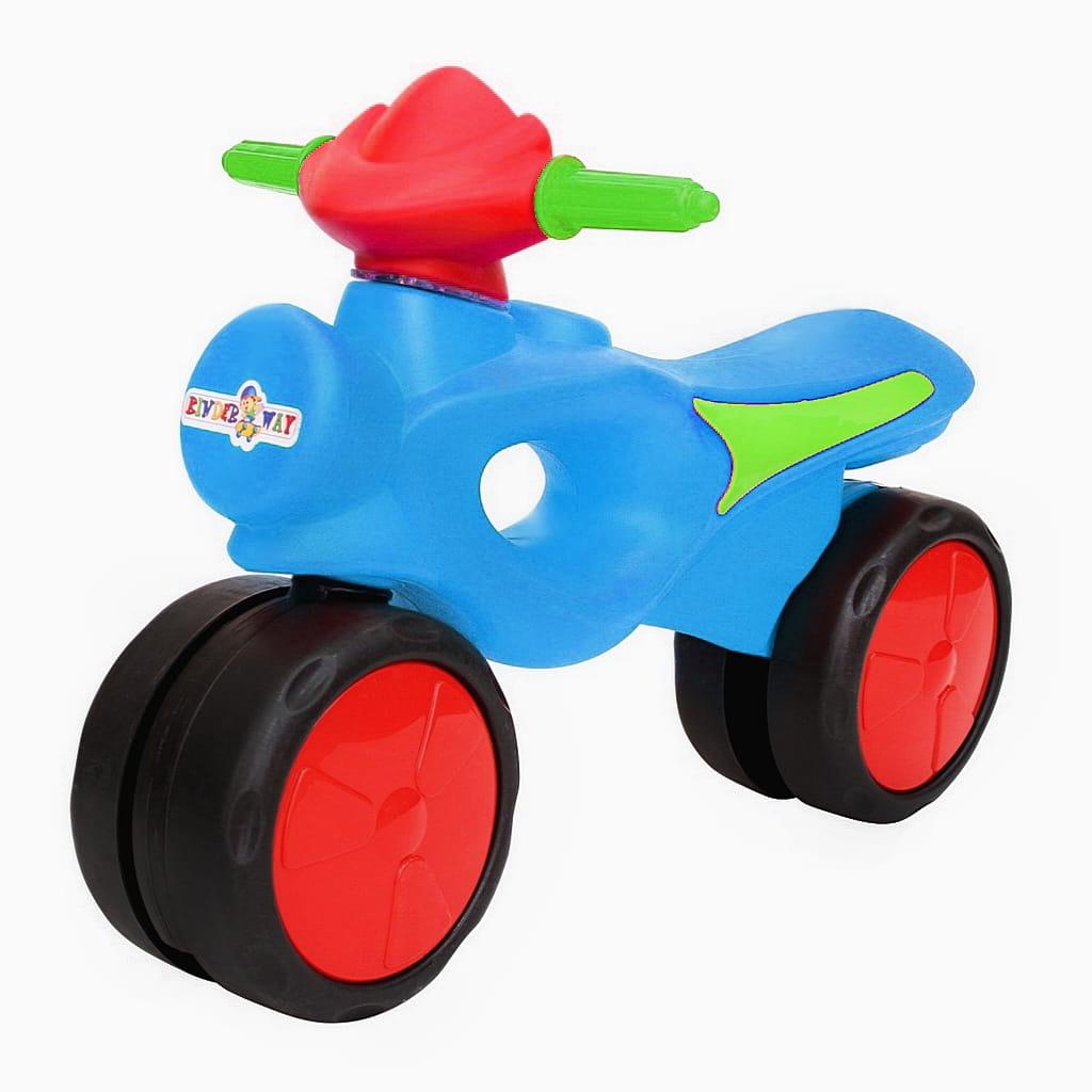 Велобег RT 6544 Kinder way - голубой-красный