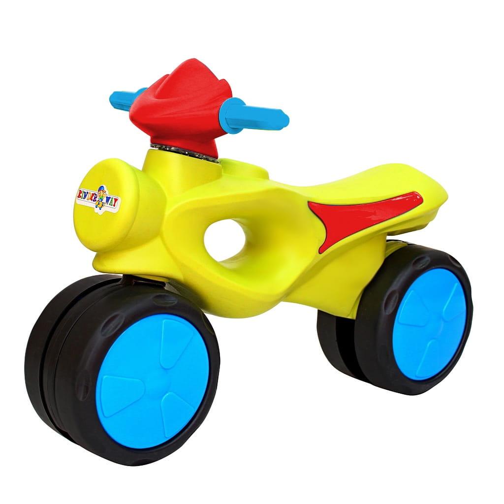 Велобег RT 6541 Kinder way - салатово-красный