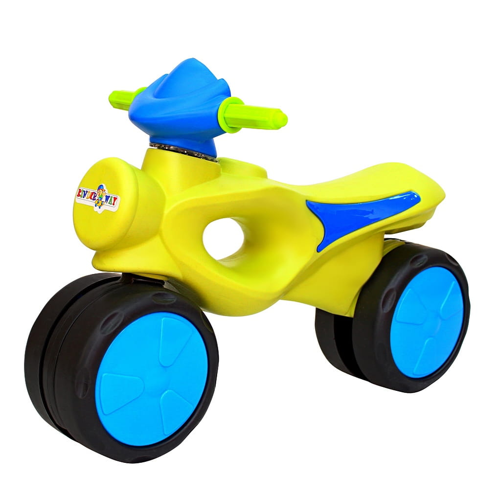 Велобег RT 6430 Kinder way - салатово-синий