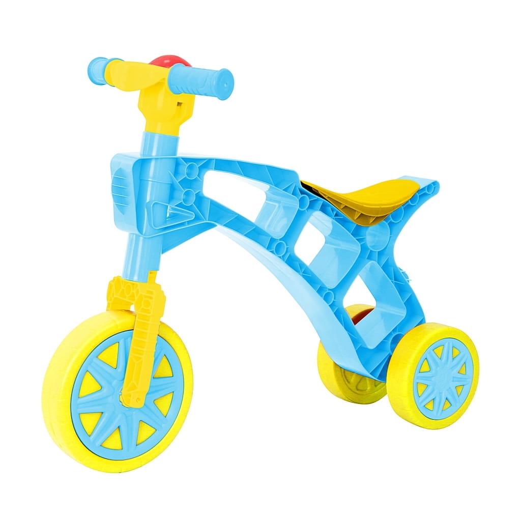 Каталка RT 5681 Самоделкин - сине-желтая (3 колеса)