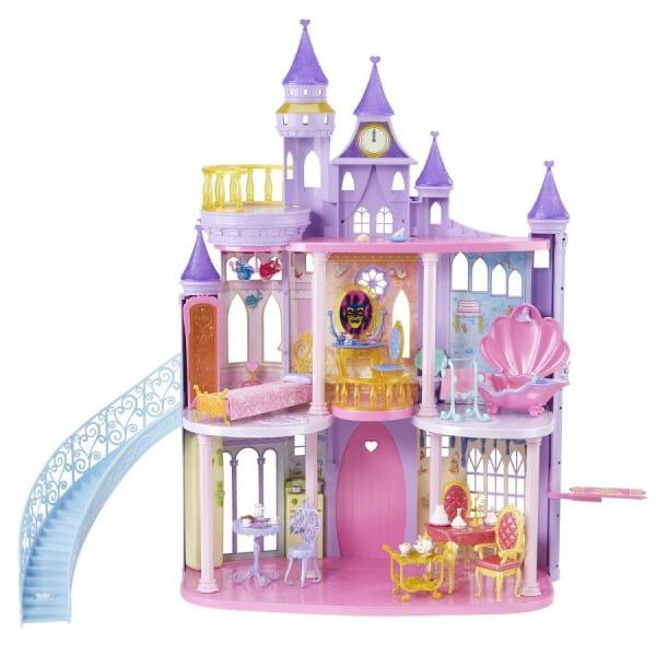 Купить Игровой набор Disney Princess Сказочный замок принцесс (Mattel) в интернет магазине игрушек и детских товаров
