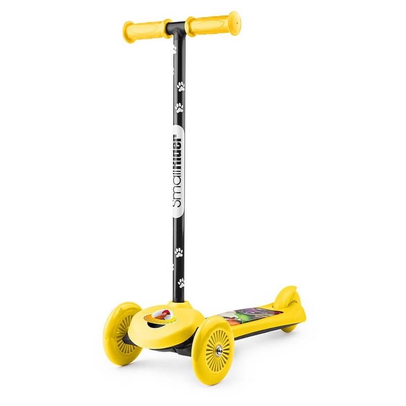 Самокат Small Rider 1233594 Cosmic Zoo Scooter - желтый