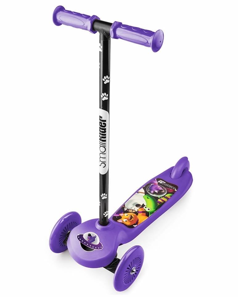 Самокат Small Rider 1233595 Cosmic Zoo Scooter - фиолетовый