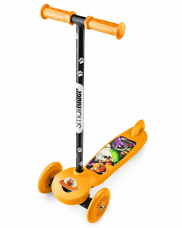 Самокат Small Rider 1233600 Cosmic Zoo Scooter - оранжевый