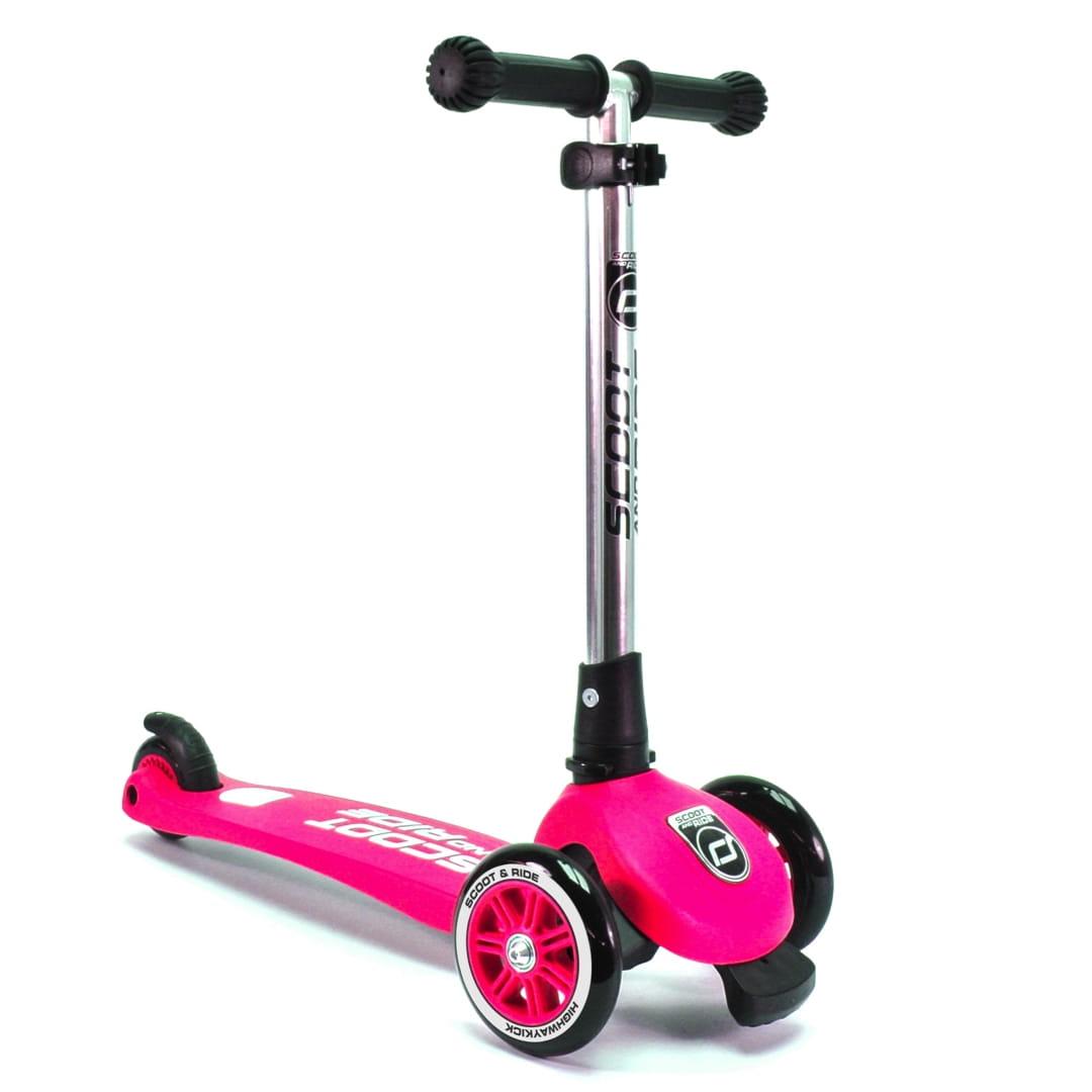Самокат Scoot and Ride 1295969 Highway Kick 3 - розовый