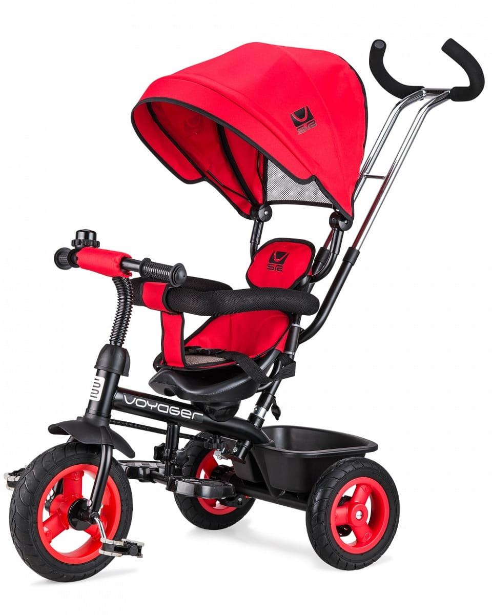 Детский трехколесный велосипед Small Rider 1224957 Voyager - красный