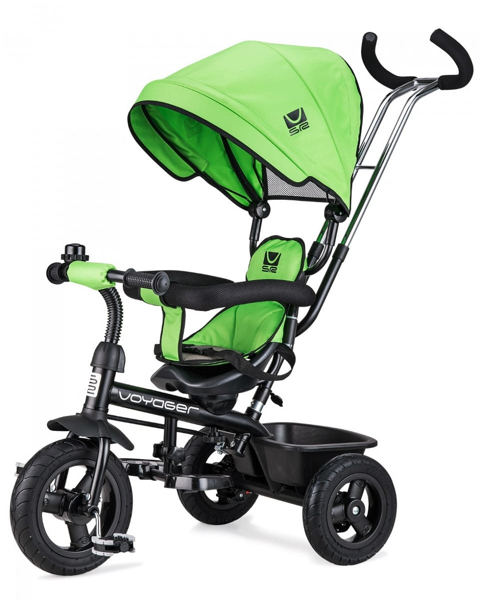 Детский трехколесный велосипед SMALL RIDER Voyager  зеленый - Велосипеды