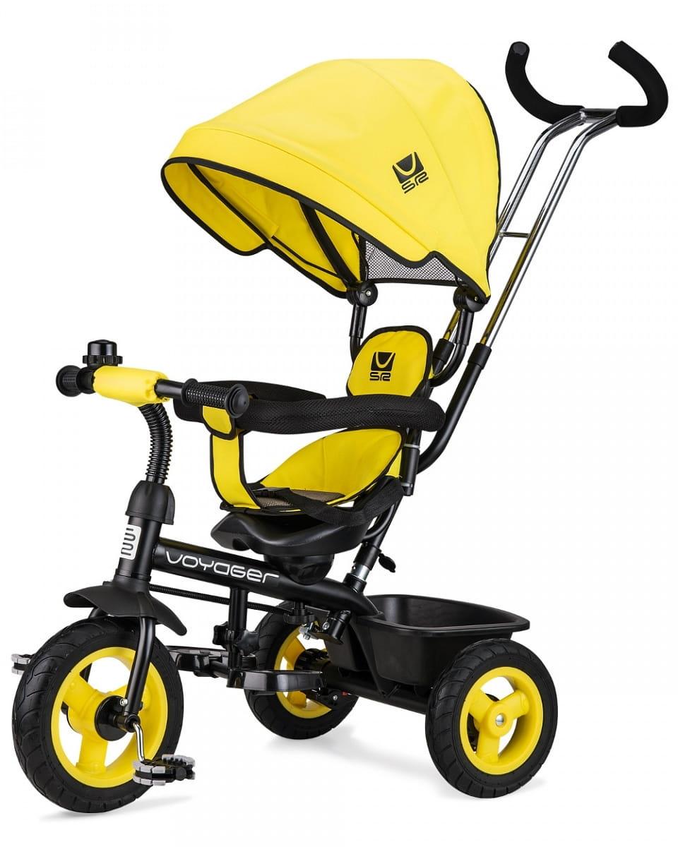 Детский трехколесный велосипед Small Rider 1224957 Voyager - желтый
