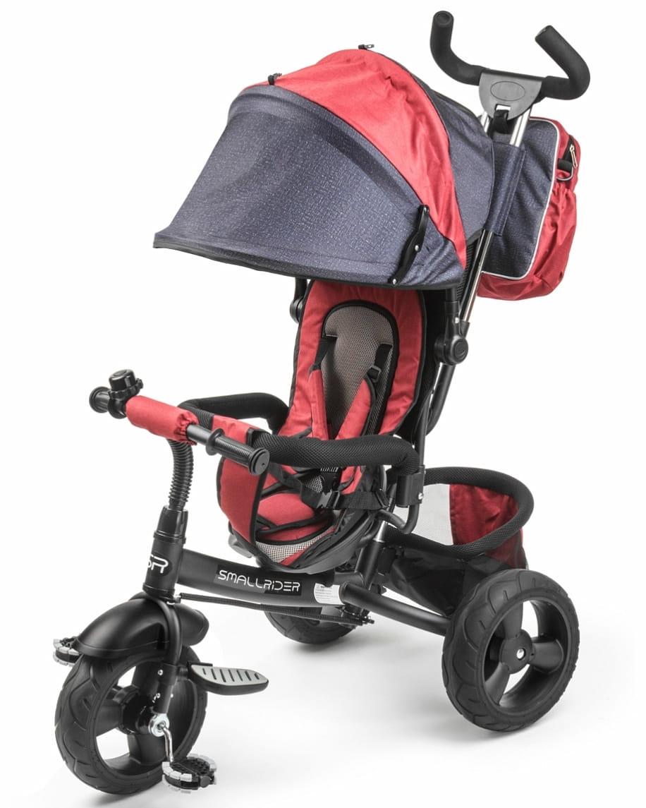 Вездеходный детский трехколесный велосипед Small Rider 1224960 Discovery - Red Denim