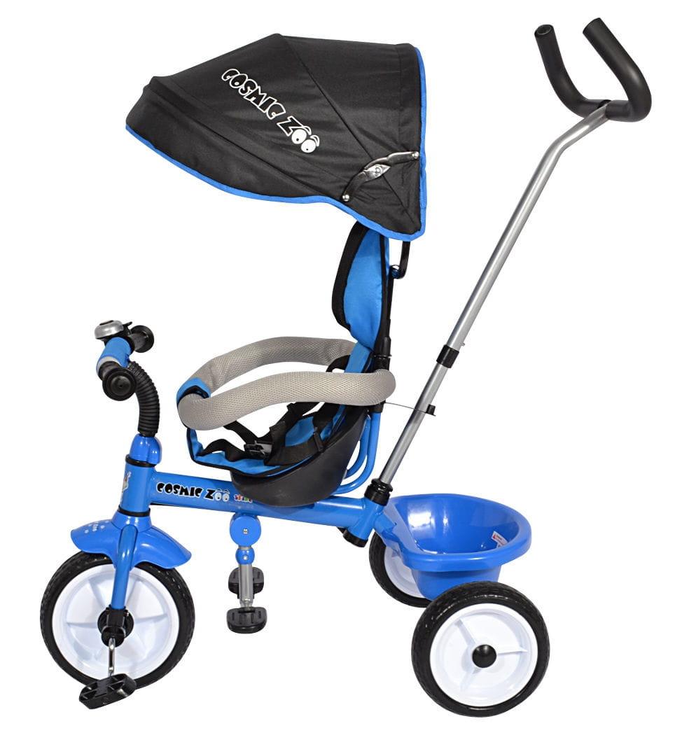Детский трехколесный велосипед Small Rider 1283891 Cosmic Zoo Trike - синий