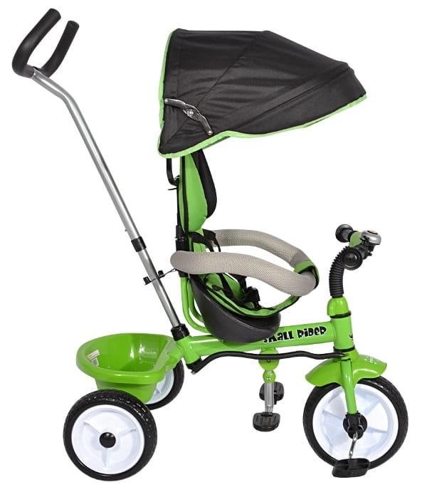 Детский трехколесный велосипед Small Rider 1283891 Cosmic Zoo Trike - зеленый