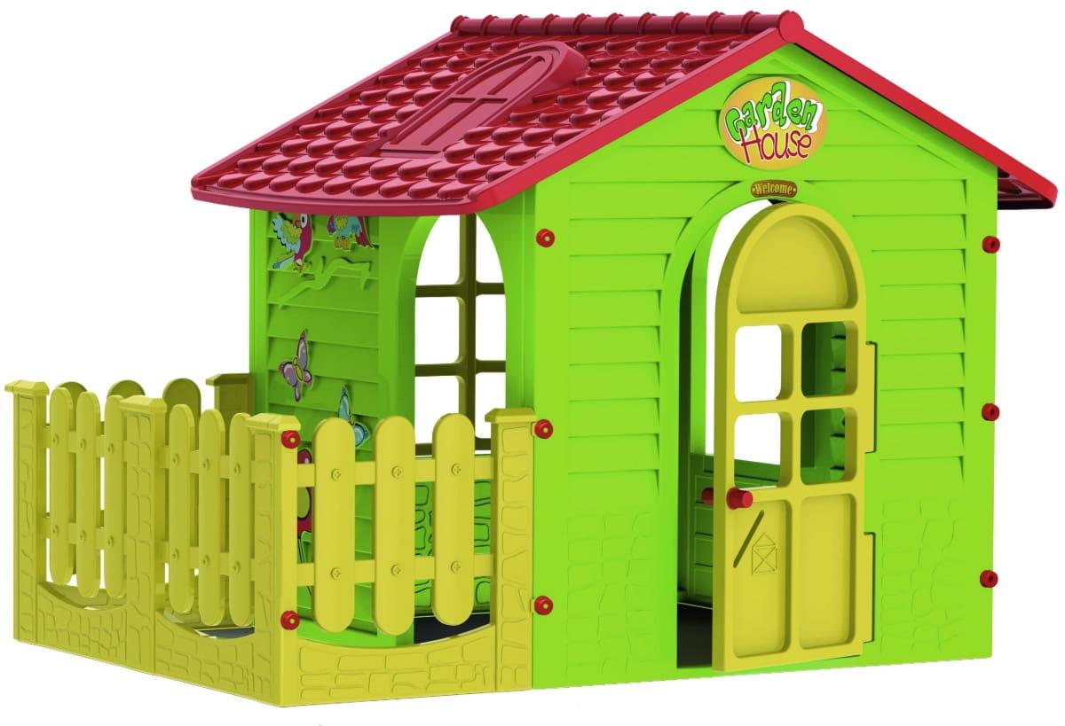 Игровой домик Mochtoys 10839 с забором