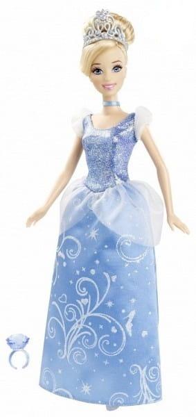 Купить Игровой набор Disney Princess Золушка в сверкающем платье (Mattel) в интернет магазине игрушек и детских товаров