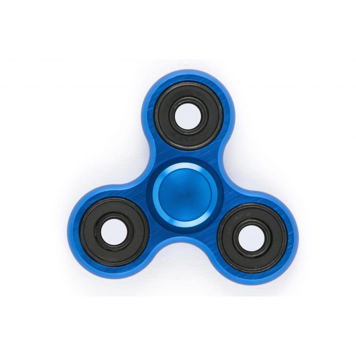Игрушка - антистресс Red Line 21955 Fidget Spinner - синий (металлический)