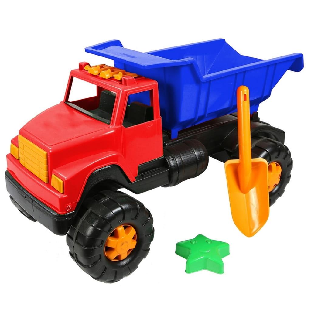 Автомобиль RT Интер BIG цветной (лопата пасочка) сине-красный