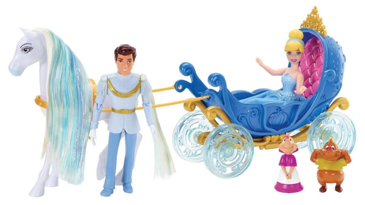 Подарочный игровой набор с мини-куклой Disney Princess X9426 Маленькое королевство Золушка (Mattel)