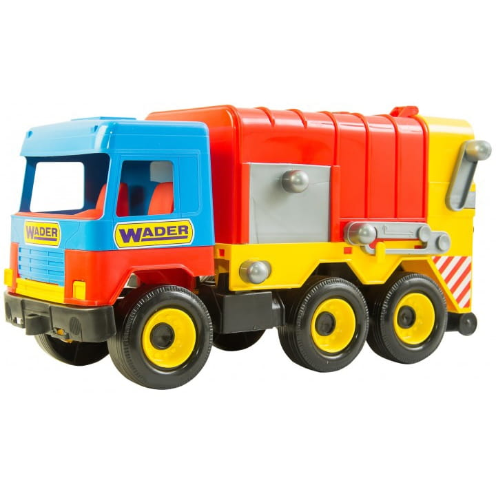 Мусоровоз WADER Middle truck