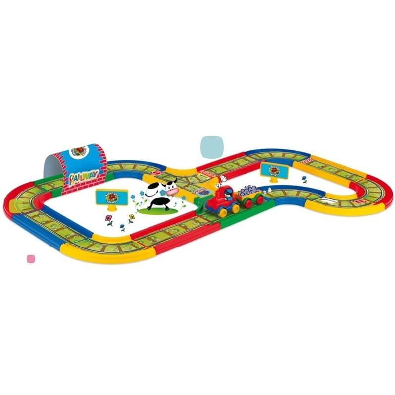 Игровой набор Wader 51701 Железная дорога