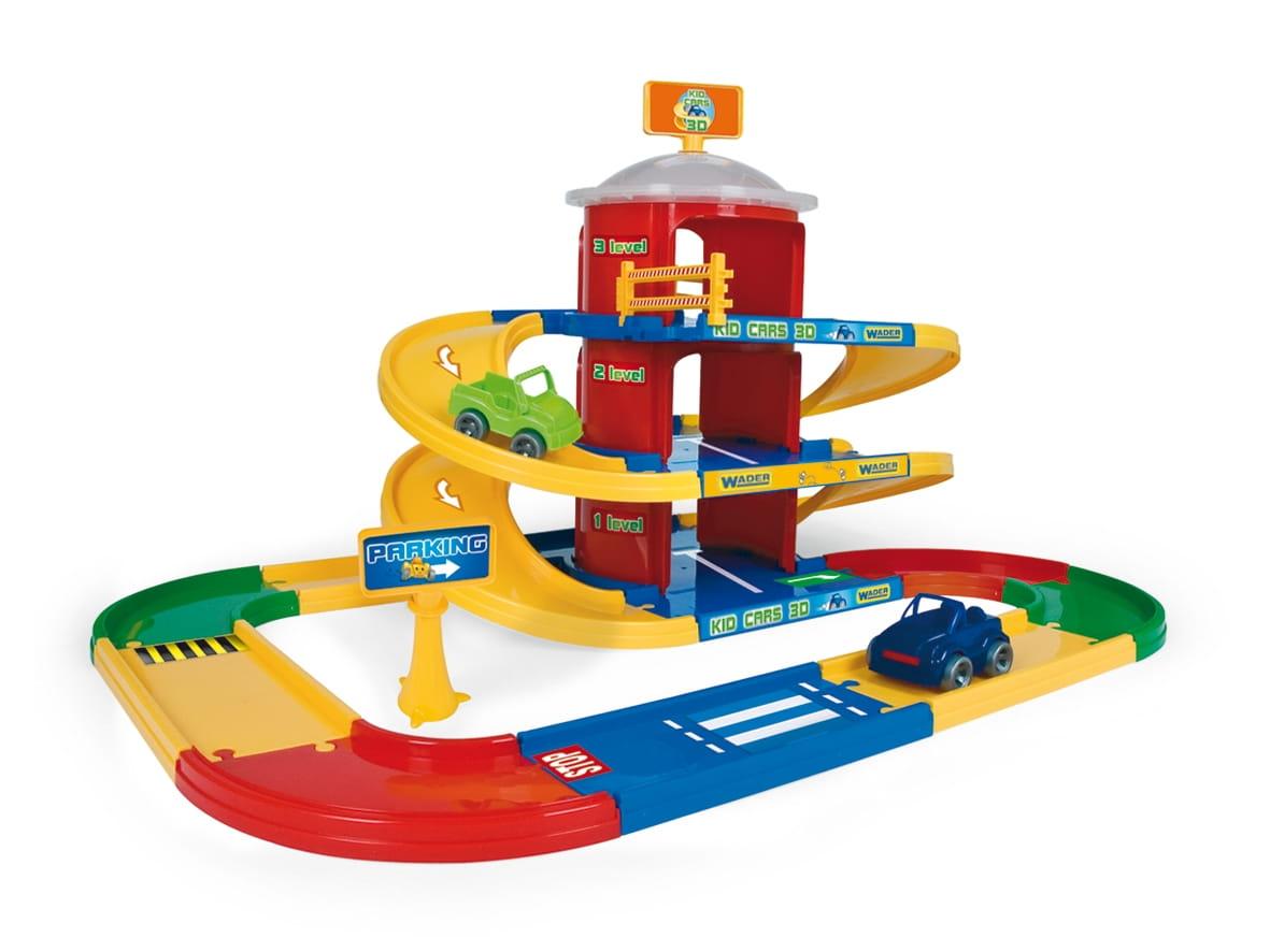 Игровой набор Wader 53040 Гараж (3 уровня)