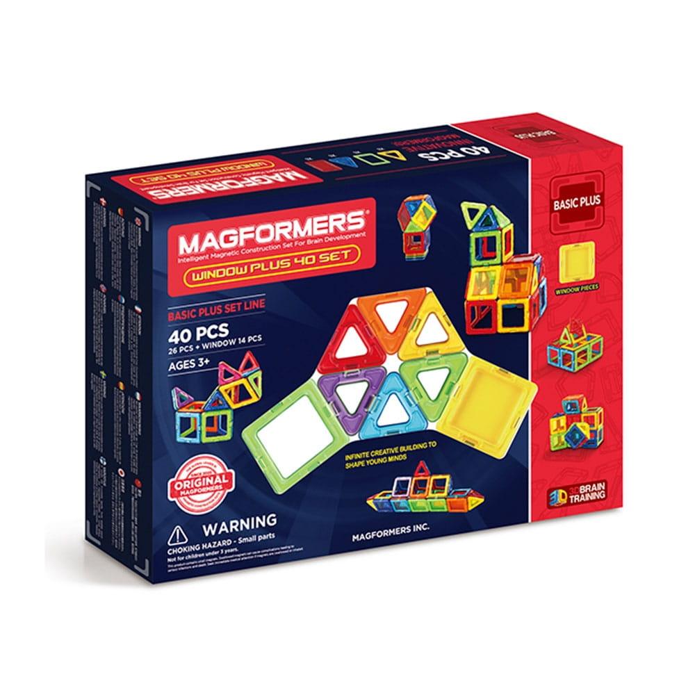Магнитный конструктор Magformers Window Plus Set (40 деталей)