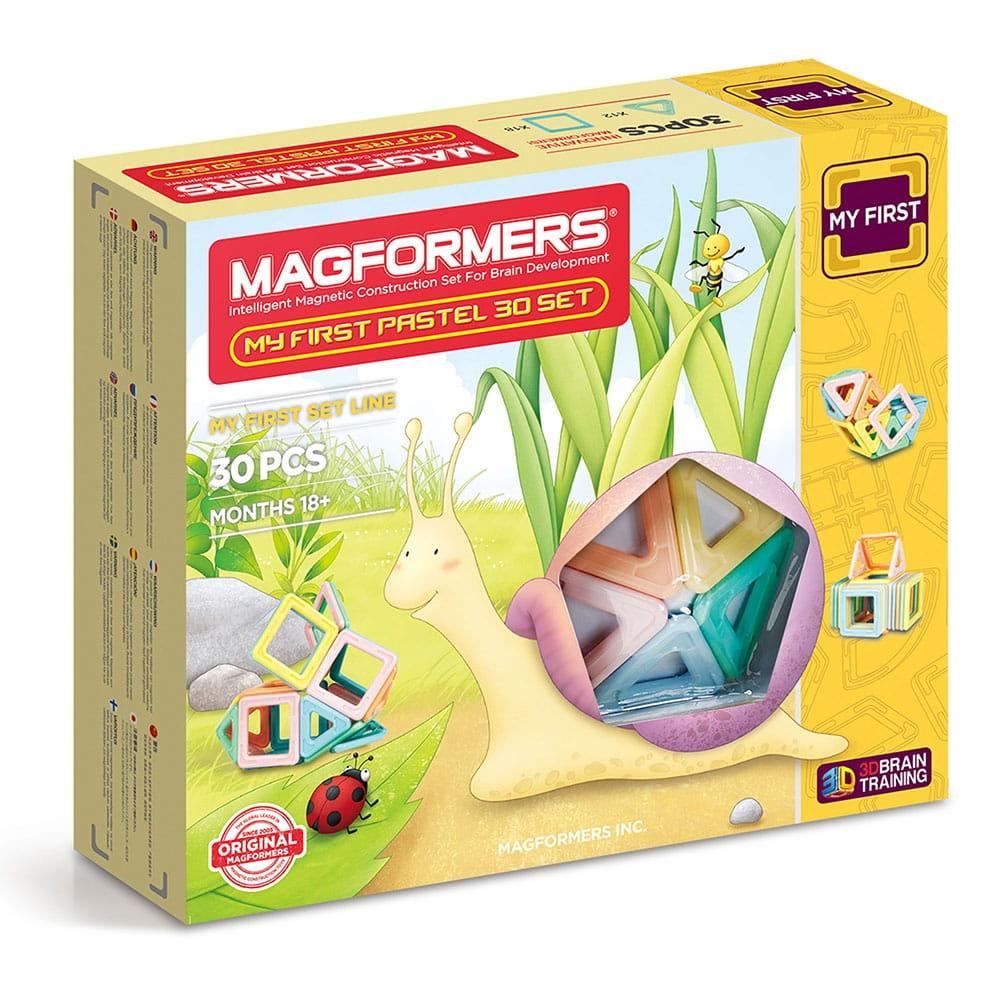 Магнитный конструктор Magformers 702013 My First Pastel Set (30 деталей)