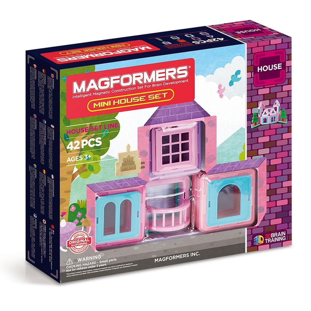 Магнитный конструктор Magformers 705005 Mini House Set (42 детали)