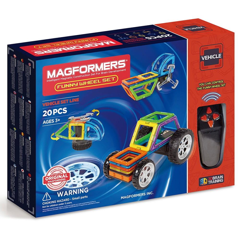 Магнитный конструктор Magformers 707012 Funny Wheel Set (20 деталей)