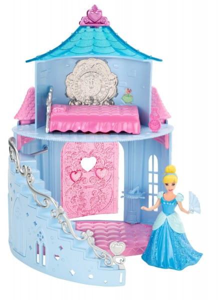 Игровой набор с мини-куклой Disney Princess Замок принцессы Золушки (Mattel)