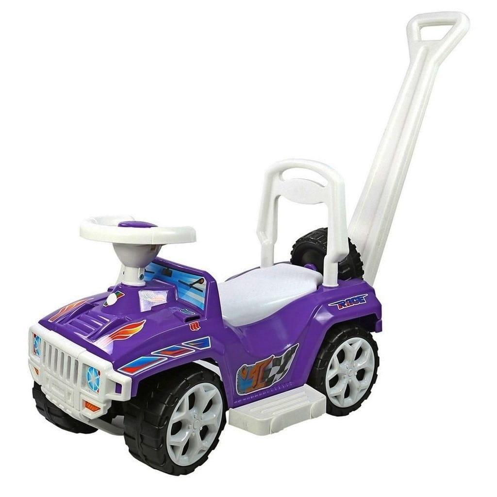Каталка RT Race mini Formula-1 - фиолетовая (с родительской ручкой)