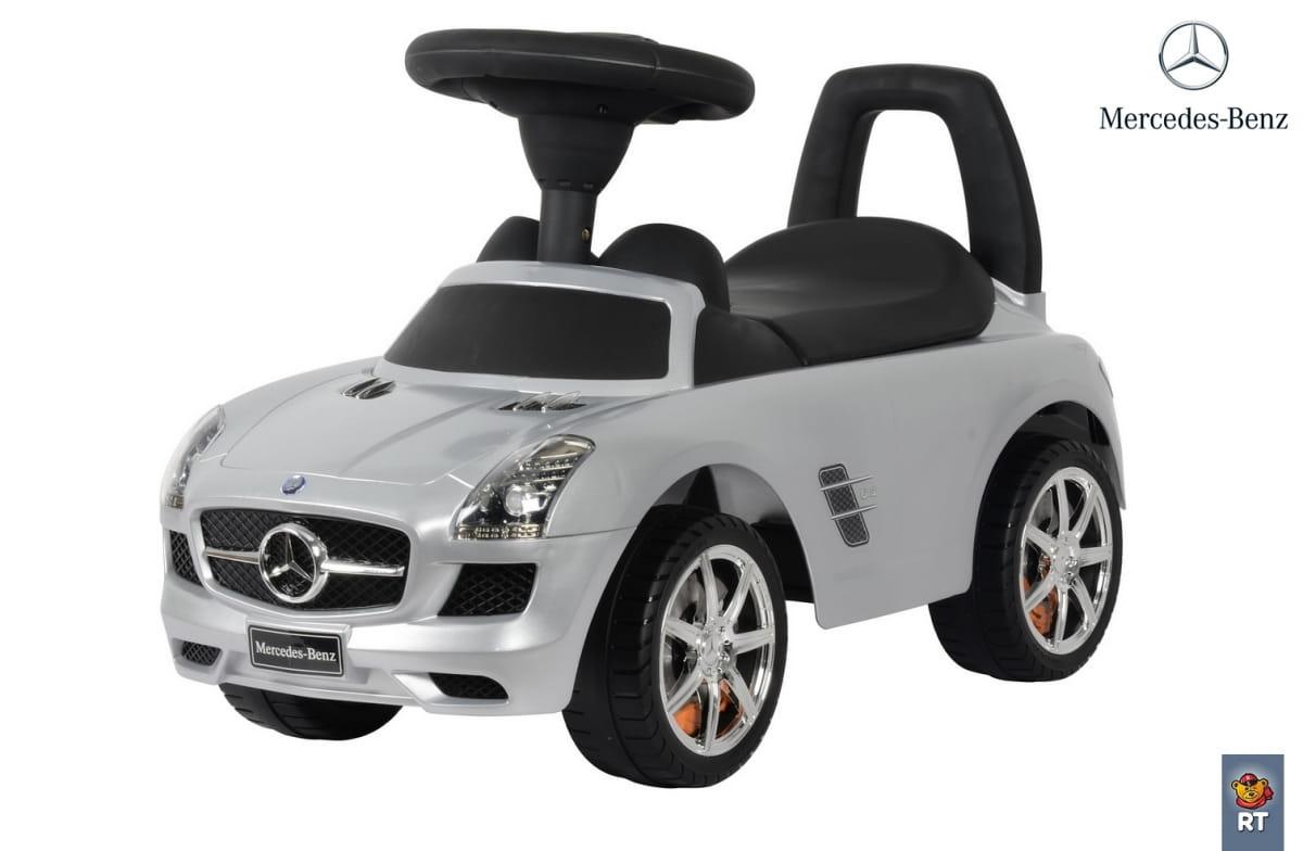 Каталка-автомобиль RT Mercedes-Benz - серебро