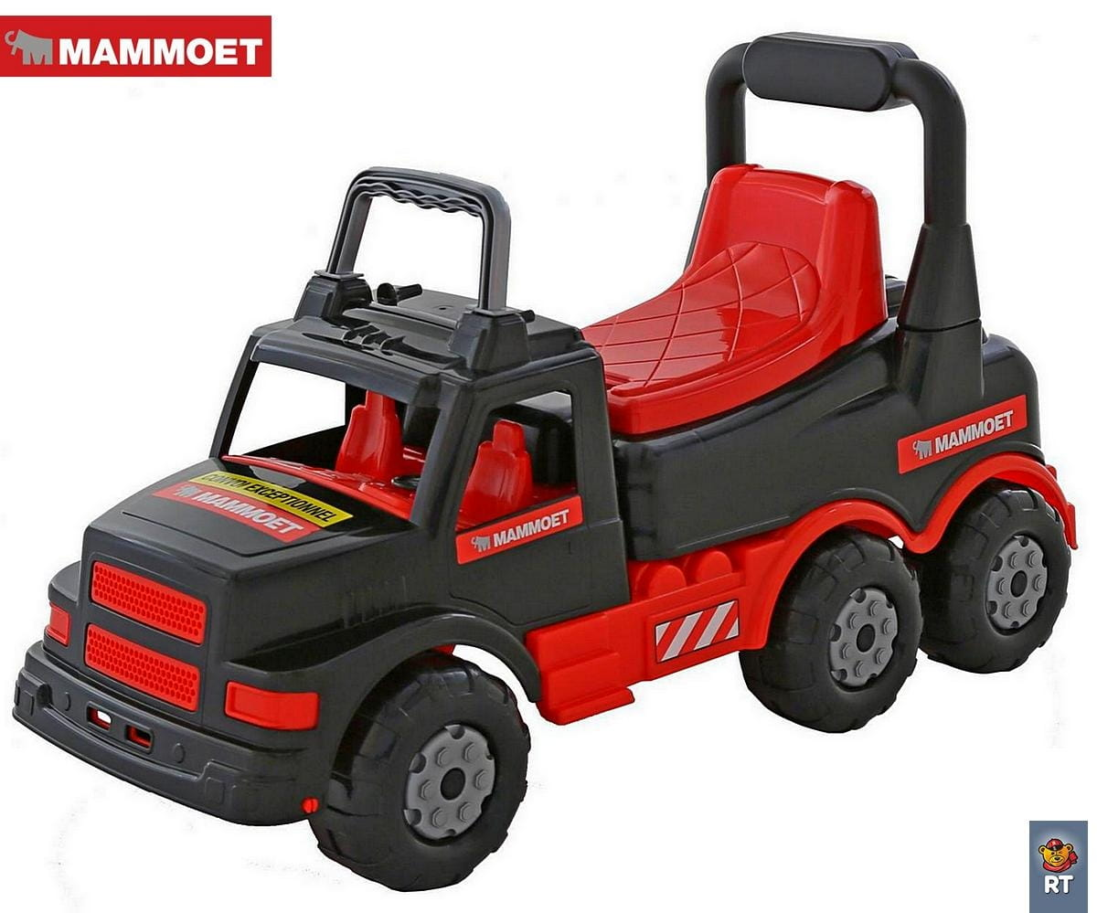 Каталка Mammoet 6373 Черно-красный грузовик
