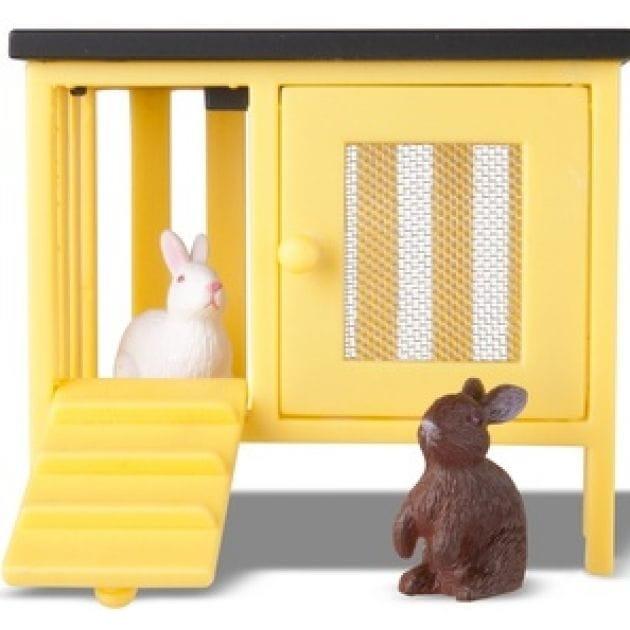 Игровой набор для домика Lundby Кролики и домик