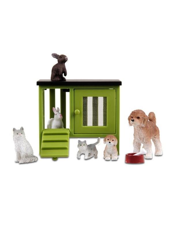 Набор кукол для домика Lundby Стокгольм Домашние животные