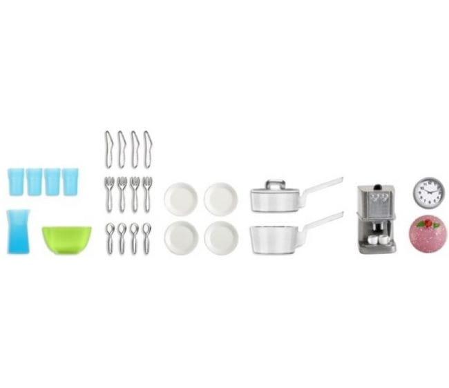 Набор аксессуаров для домика Lundby LB_60905200 Стокгольм Кухонная утварь
