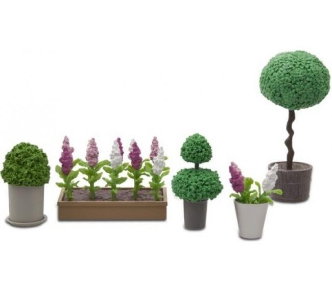 Набор аксессуаров для домика Lundby LB_60905500 Стокгольм Цветы в горшках