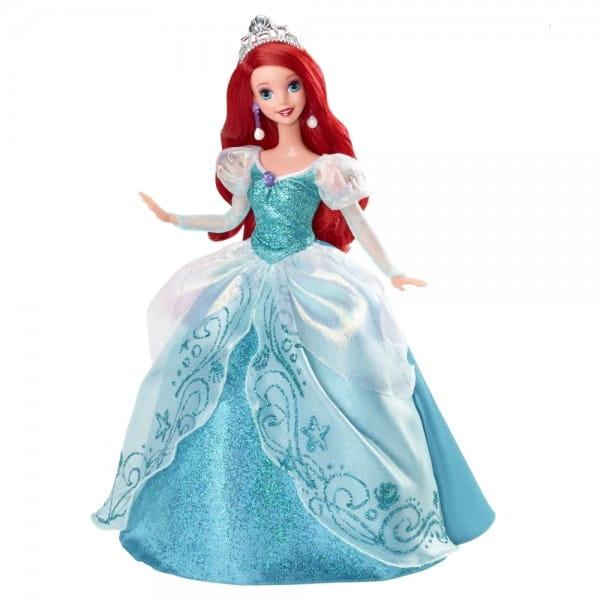 Купить Подарочный набор Disney Princess Принцесса Ариэль на балу (Mattel) в интернет магазине игрушек и детских товаров