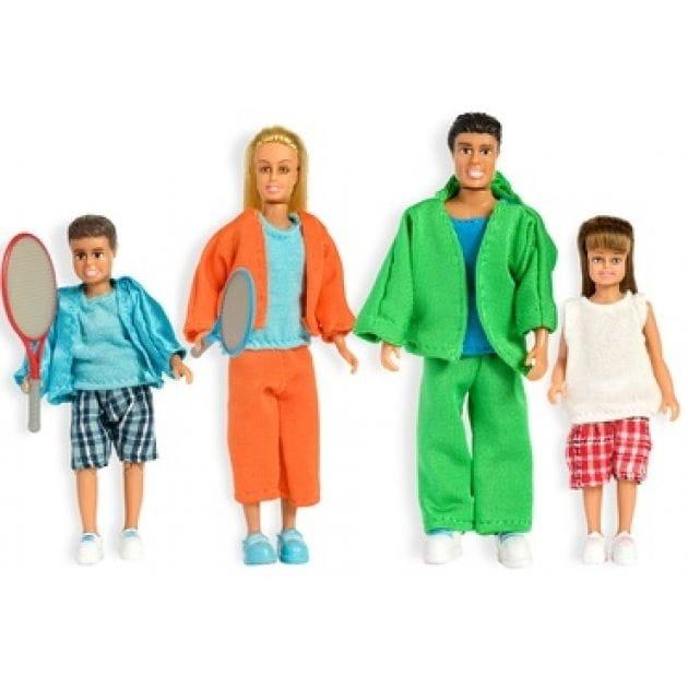 Набор кукол для домика Lundby LB_60905600 Стокгольм Cпортивная семья
