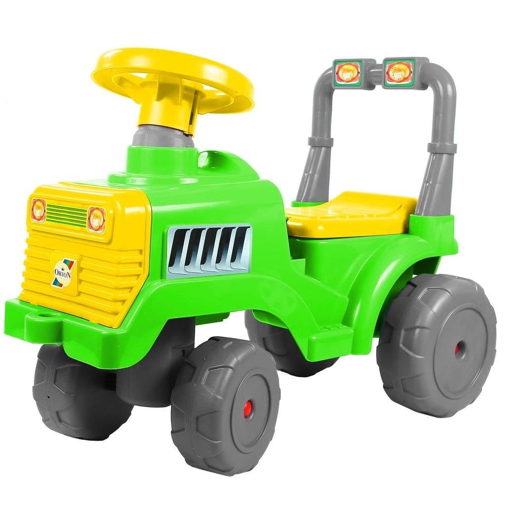 Каталка RT 6529 Трактор - зелено-желтая