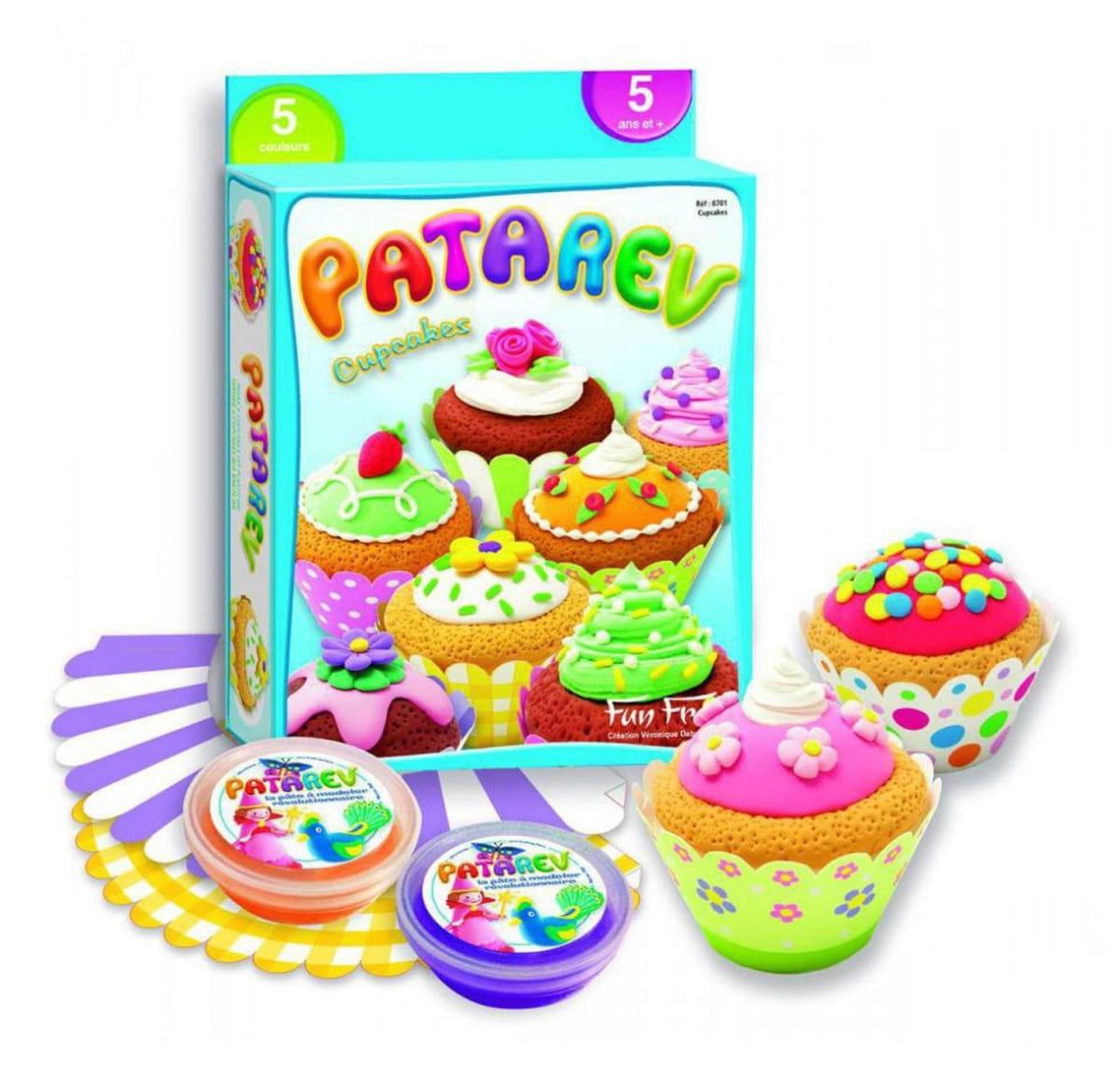 Набор для лепки SENTOSPHERE Пирожные (Patarev)
