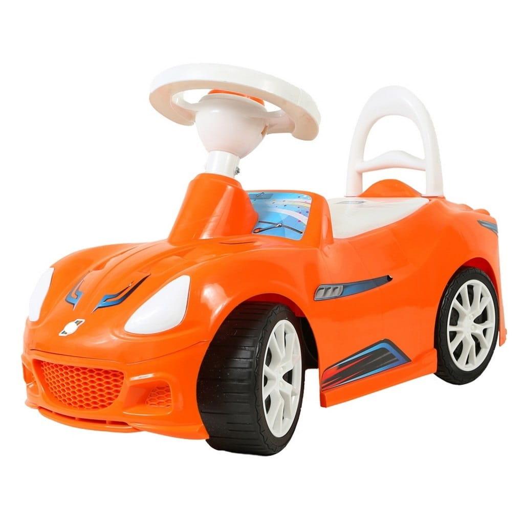 Каталка RT 5315 Спорткар - оранжевая