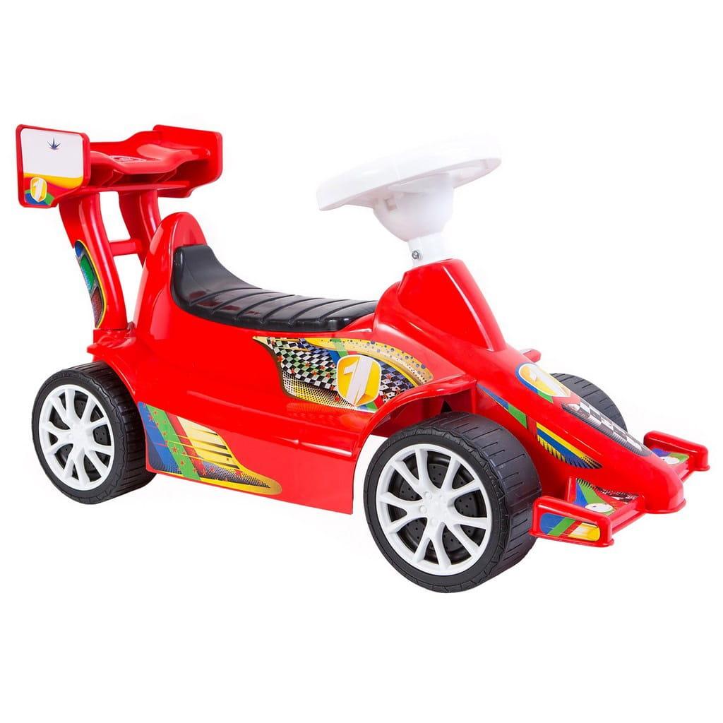 Каталка RT 5309 Спорткар Sport - красная