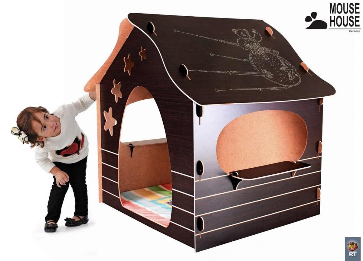 Игровой домик Mouse House 060-4 Мишка в космосе