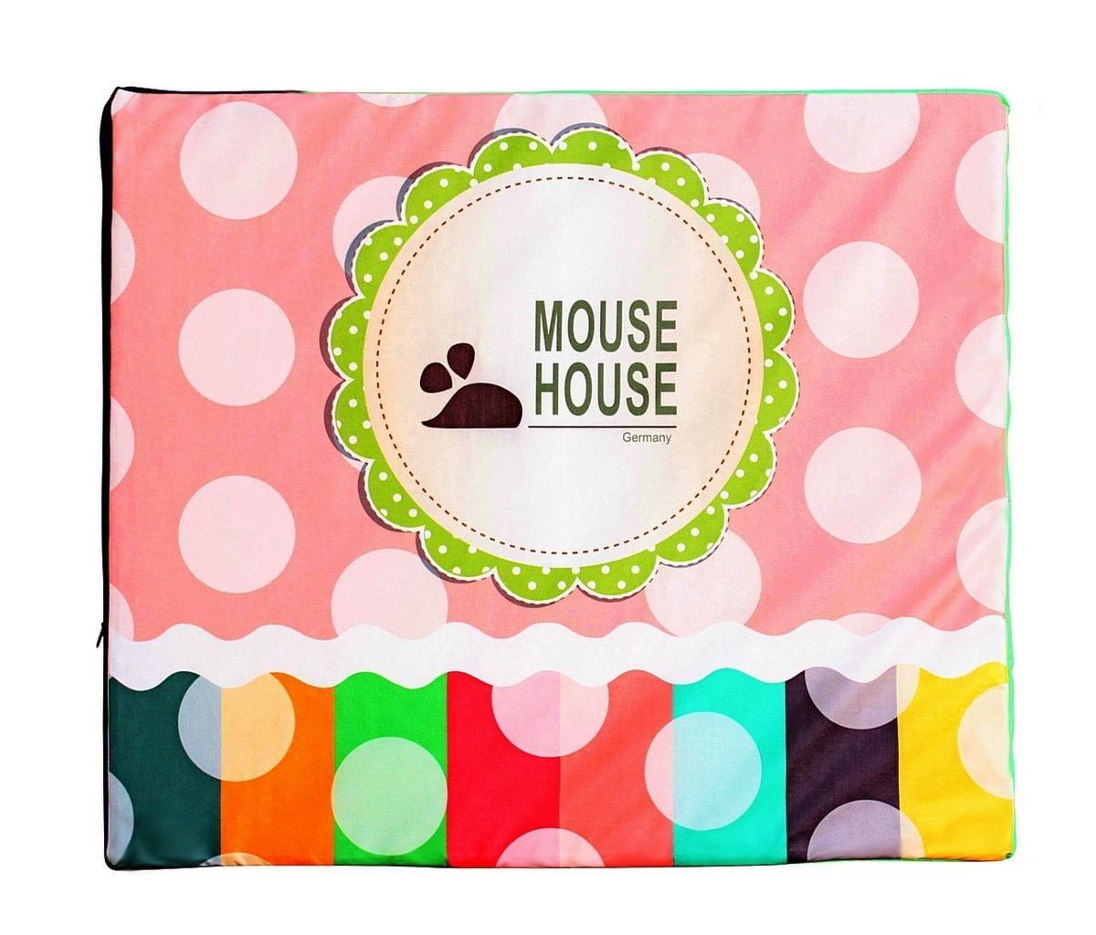 Мат для игрового домика Mouse House 061-4 Горошек
